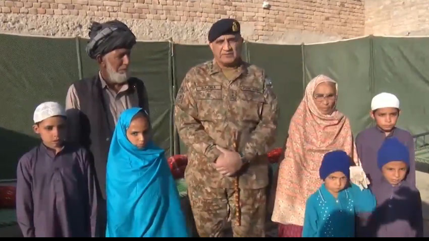 Pakistan Army Chief salutes APS martyrs