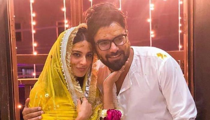 Yasir Hussain and Iqra Aziz