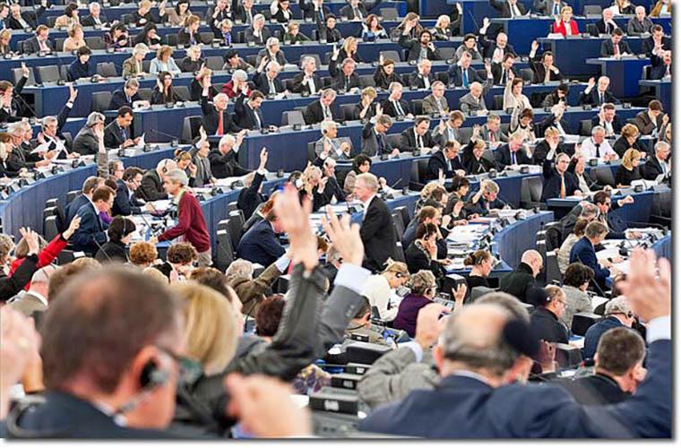 European Parliament vote on Kashmir