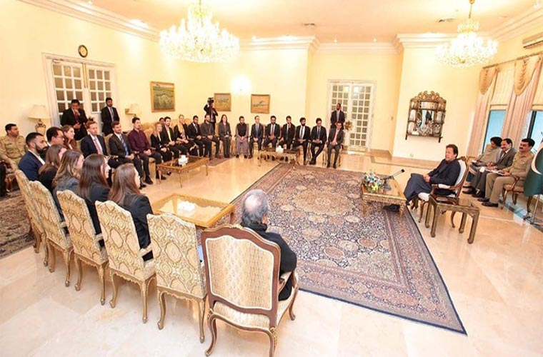 PM Imran Khan tells