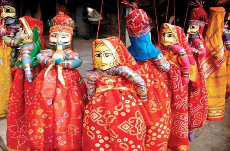Free puppet show for children
