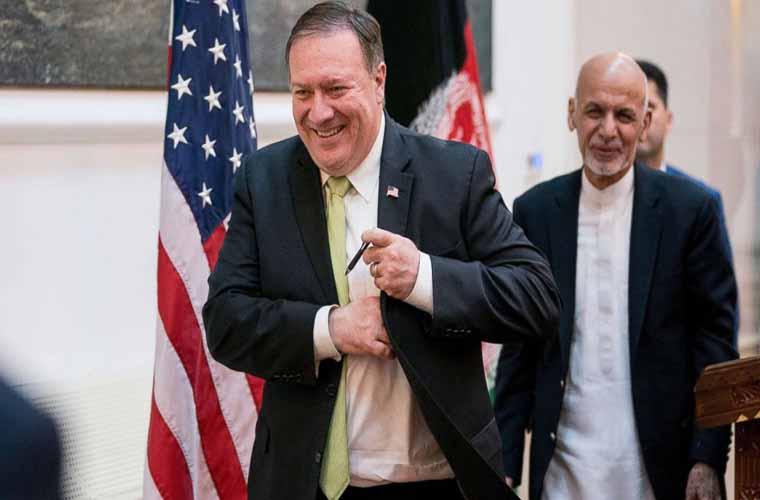 Mike Pompeo visits Afghanistan