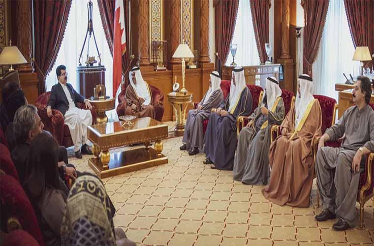 Senate Chairman meets Crown Prince