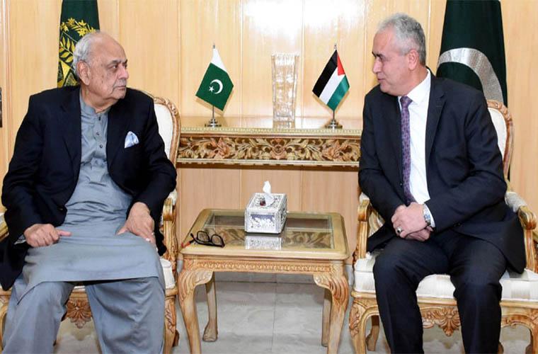 Interior Minister appreciates Palestine