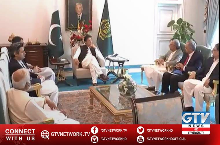 The team PM Imran Khan review