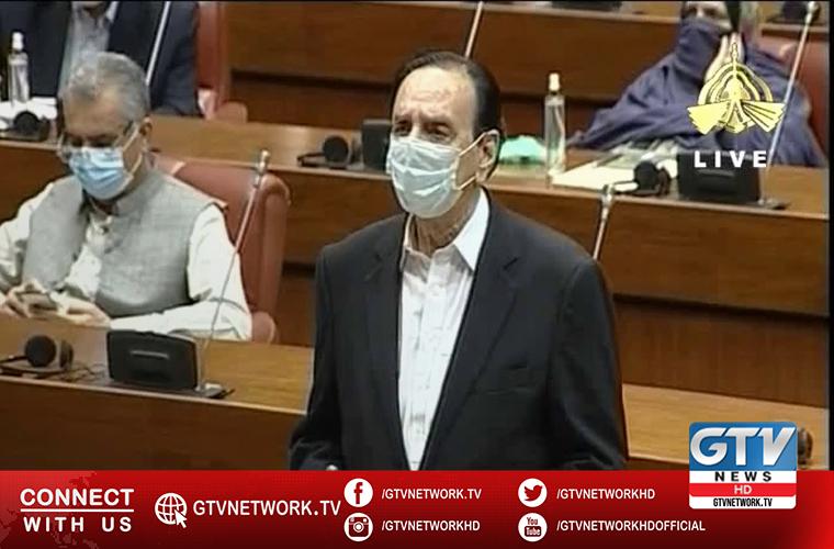 Opposition leader in Senate