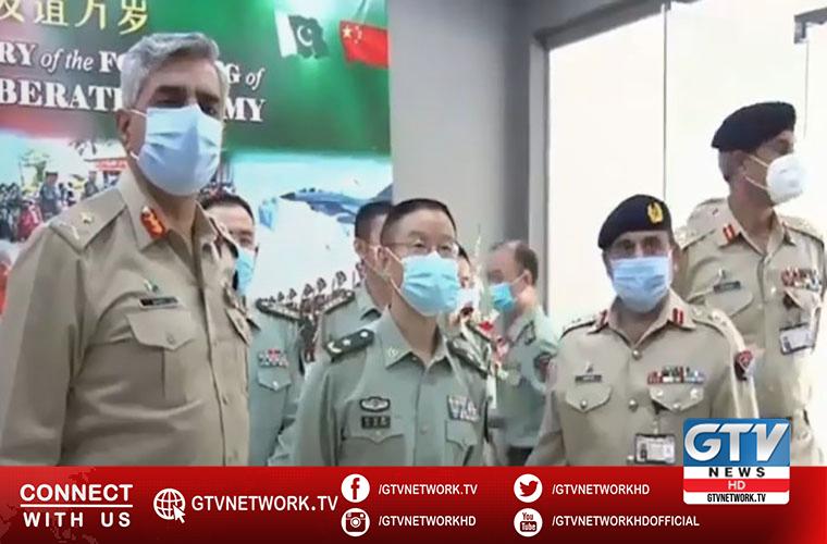 China Defence Attaché-led delegation visits ISPR