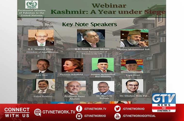 Pakistan Mission to UN to host webinar on Kashmir