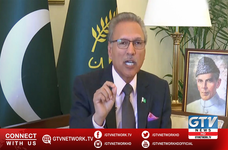 President Alvi calls families of martyred soldiers