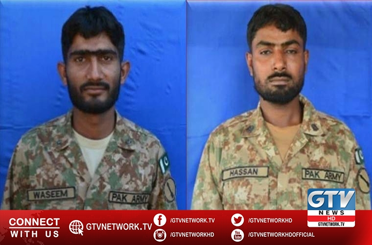 Three soldiers of Pakistan Army martyred