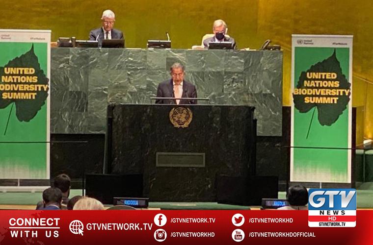 ECOSOC Chief Munir Akram asks world leaders