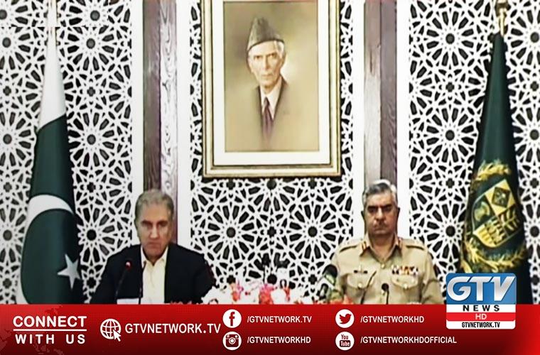 FM and DG ISPR unveil dossier on Indian terror sponsorship in Pakistan