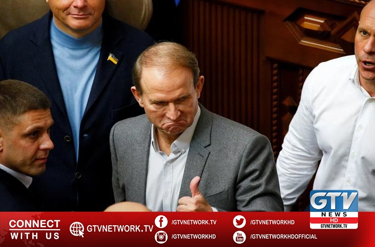 Ukraine president signs decree imposing sanctions against Medvedchuk, others