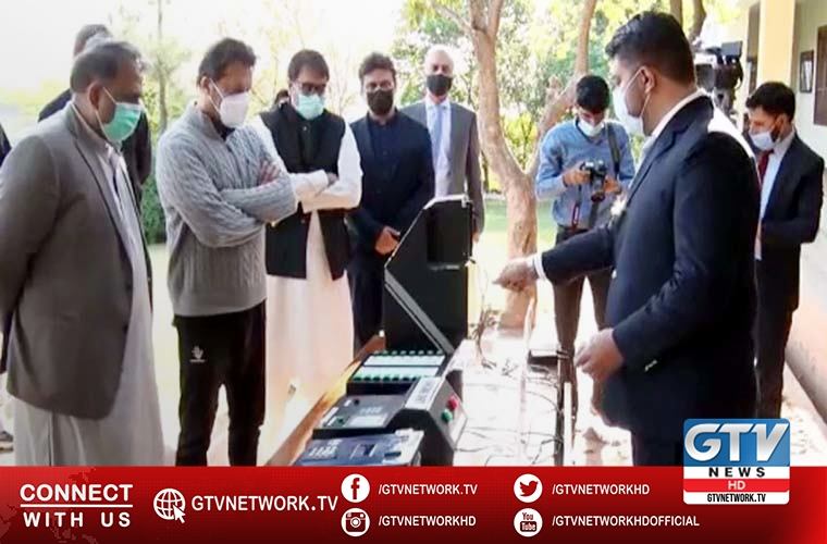 PM briefed on progress on manufacturing of electronic voting machine