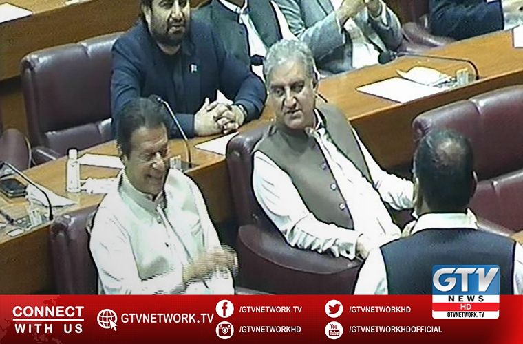 PM Imran Khan wins vote of confidence