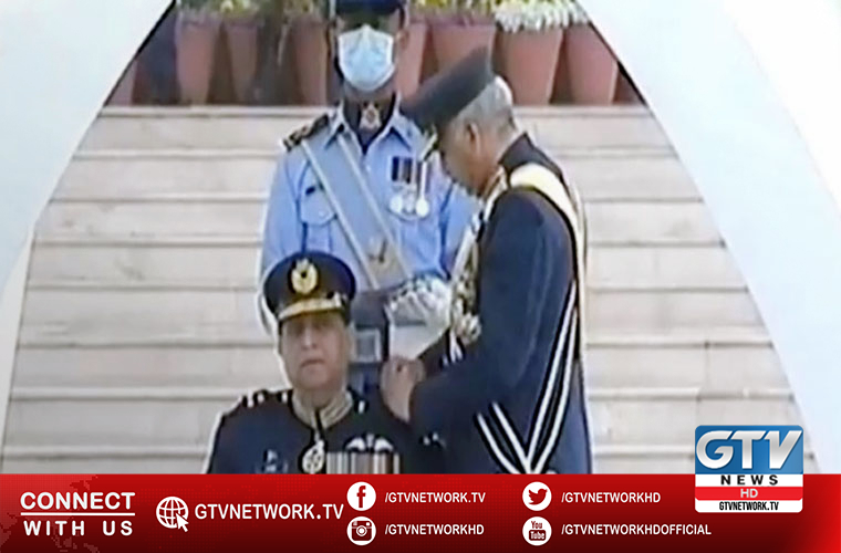 Zaheer Ahmed Babar Sidhu takes charges as Pakistan Air Force new chief