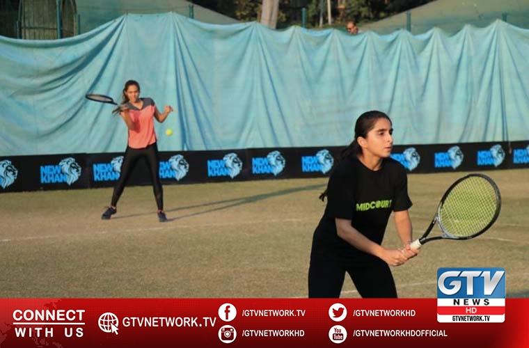Ushna and Noor in ladies final in Pakistan Open Tennis Championships