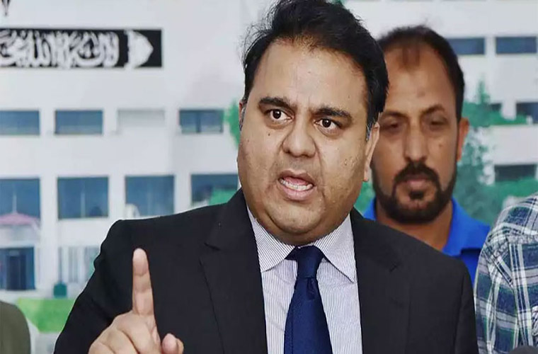 Minister Fawad slams PMLN leader Abbasi for plain lies