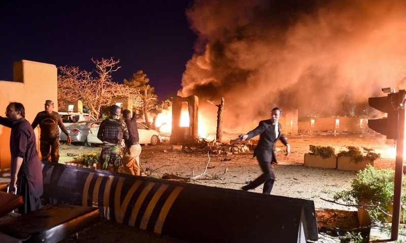 Quetta Serena Hotel blast kills four and injures 12 people