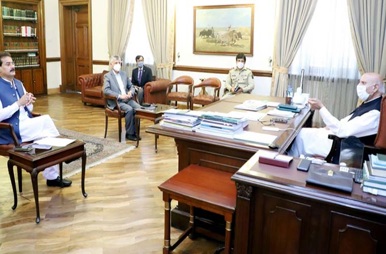 Governor asks Opposition to with the govt on electoral reforms