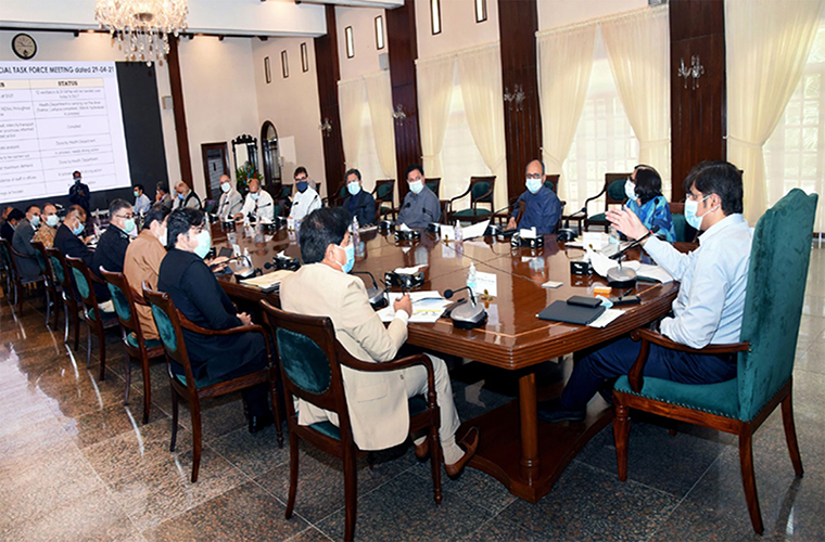 Sindh Task Force on Coronavirus for SOPs implementation