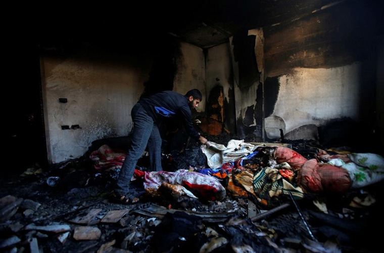 Death toll of Palestinians due to Israeli missile attacks rise to 140