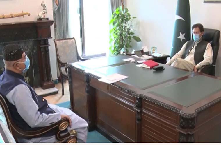 Senate Chairman and Maulana Tariq Jameel meet Prime Minister