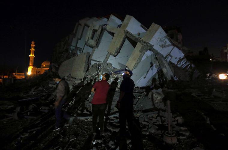 Over 100 Israeli airstrikes raise death toll to 49 in Gaza so far