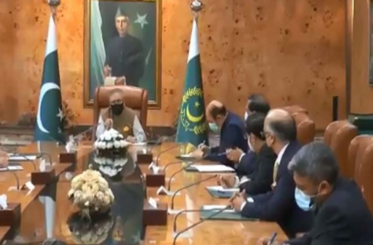 Lahore Chamber of Commerce and Industries delegation meets President