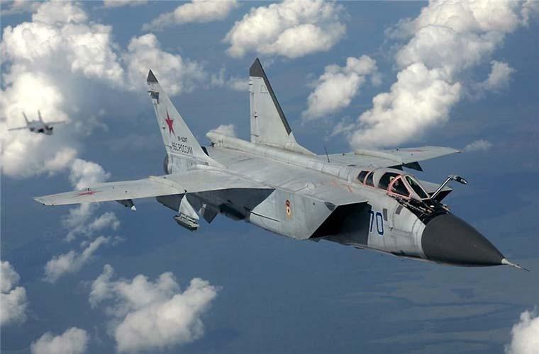 Russian MiG 1 Fighter Jet Intercepts US Aircraft