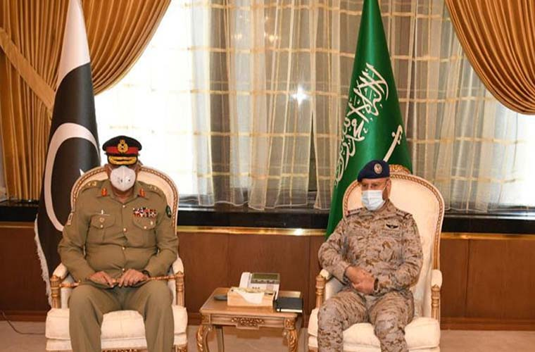 Pakistan Army Chief calls on Saudi Armed Forces Chief of General Staff