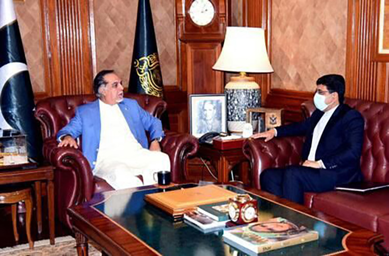 Sindh governor calls for more economic cooperation between Pakistan Iran