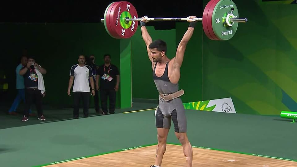 Pakistani weightlifter Talha gets participation invitation for Tokyo Olympics