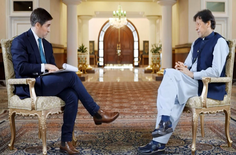 Prime Minister Imran Khan says an absolute no to any base for US