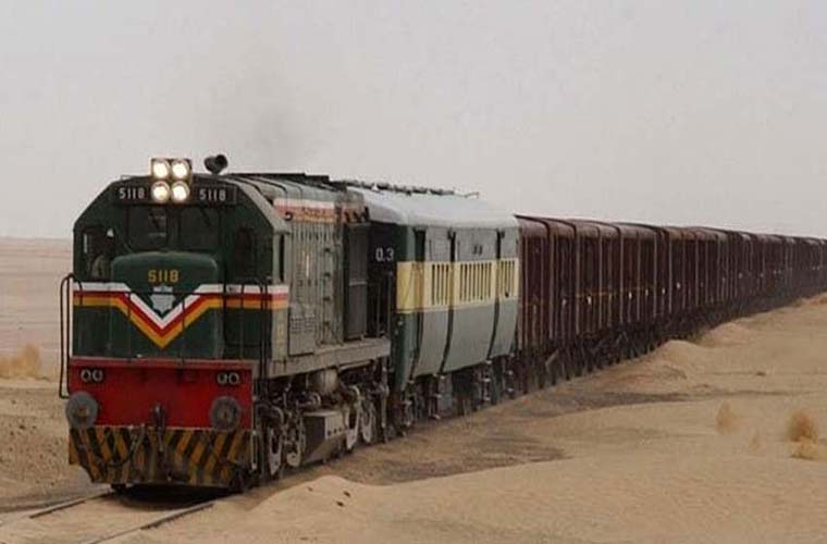 Freight train service between Pakistan and Iran resumed