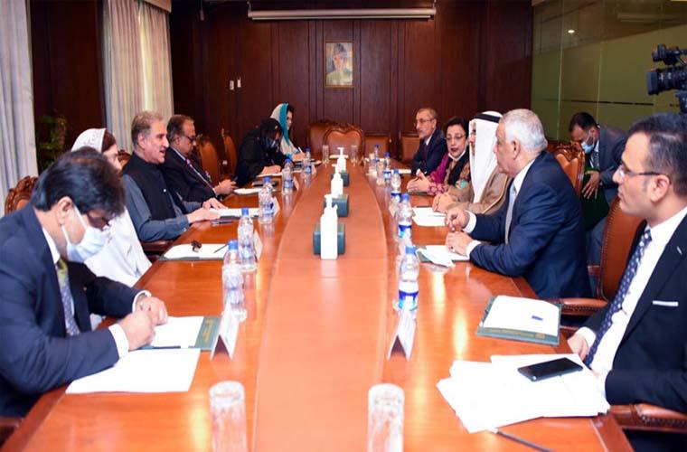 Arab Parliament delegation calls onForeign Minister