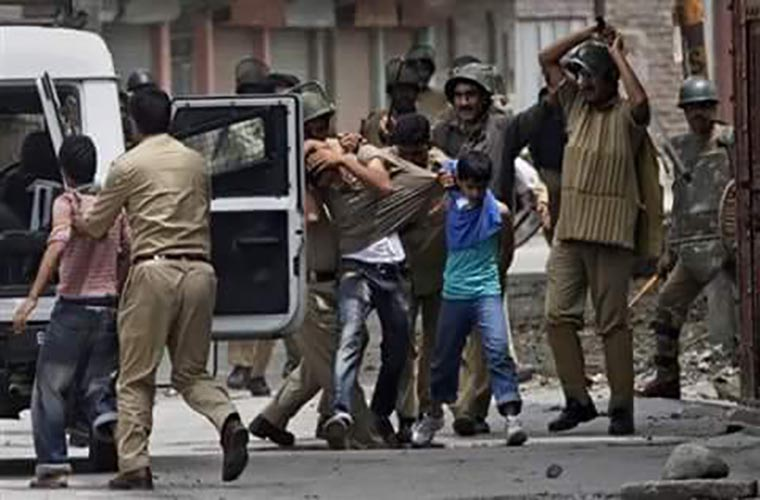 37 Kashmiris martyred due to India state terrorism in August 2021