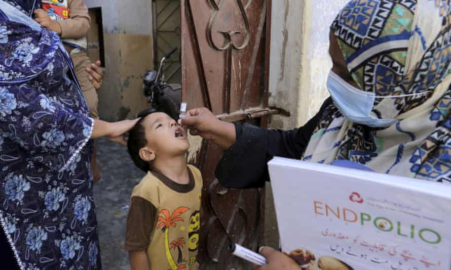 Anti polio campaign begins in 68 districts in Pakistan