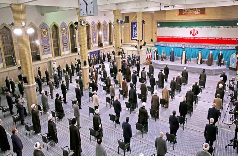 Supreme Leader endorses the decree of Ebrahim Raisi as Iran President